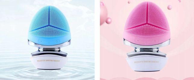 Szczoteczka do twarzy masażer soniczny 2 kolory ac