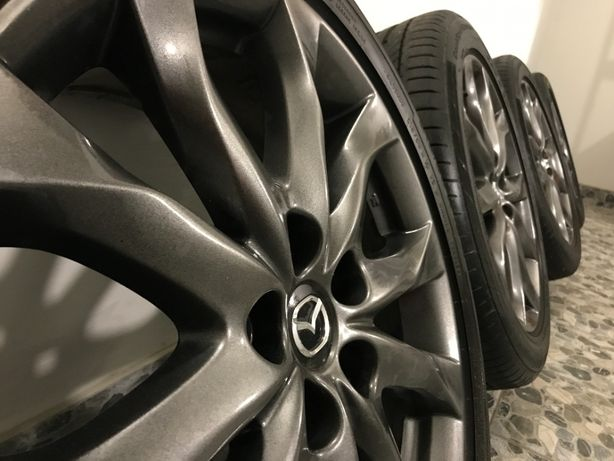 Комплект колес Mazda R18, 215 50 R18, 5 114.3, диски резина колеса