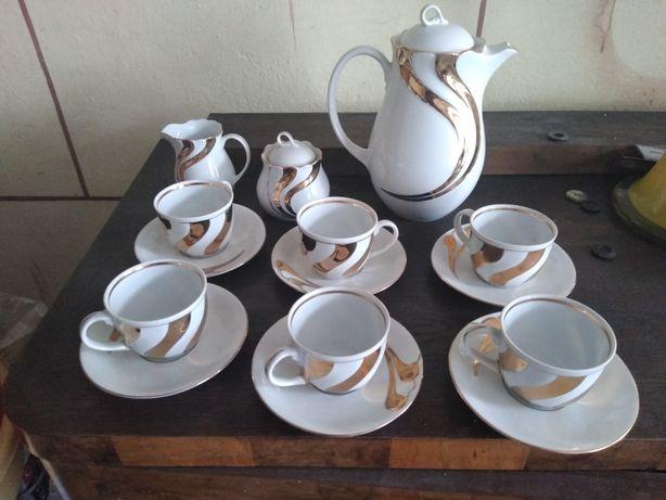 Serwis kawowy sześć filiżanek