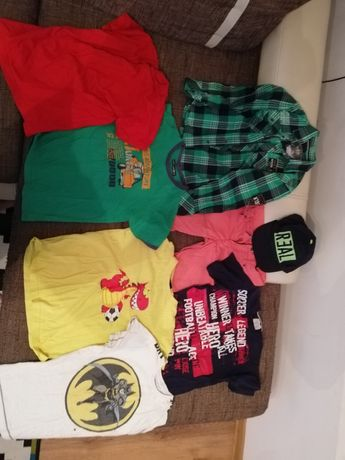 Ubrania dla chlopca od 120 do 140