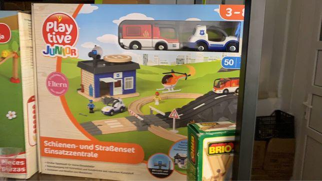 Деревянная железная дорога  Playtive Германия