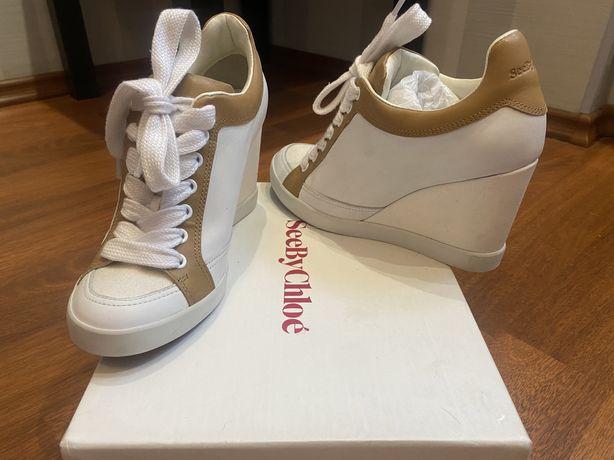 Новые ботинки Chloe by Chloe