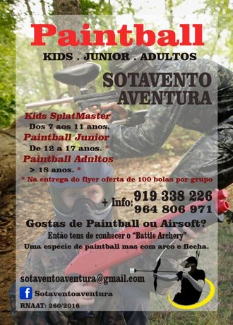 Paintball Tavira - Algarve - Alentejo