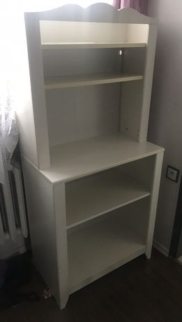 Regał szafka komoda przewijak półka Ikea Hensvik dla dzieci biała