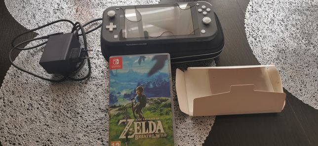 Nintendo switch lite+zelda