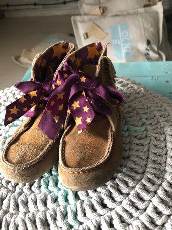 Buty skórzane Mina w roz. 27 wkładka 16,50