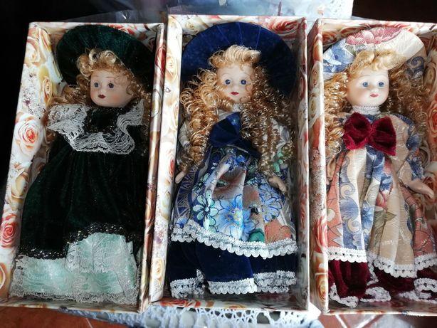 Bonecas de porcelana preço do conjunto