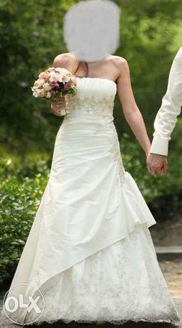 Suknia ślubna rozmiar 36 + gratisy!