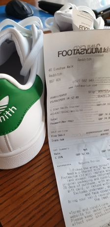 Adidas stan Smith 44 2/3
