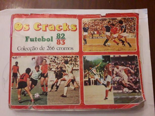 Caderneta futebol Cracks futebol 82-83