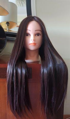 Cabeça de treino de cabeleireiro NOVA