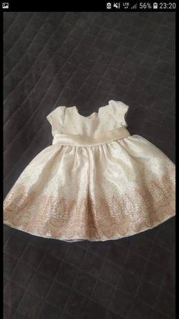 Sukienka balowa błyszcząca