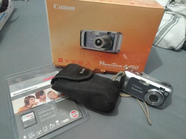 Aparat fotograficzny CANON Powershot A450 zestaw