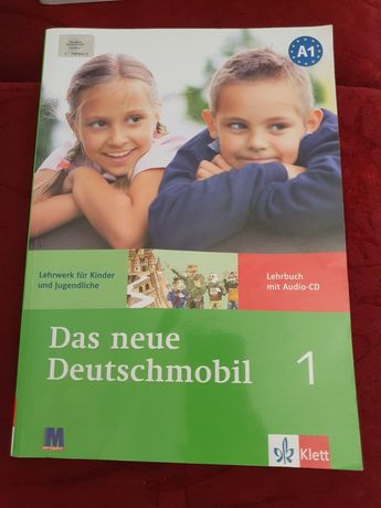 Учебник оксфордский немецкий  рабочая тетрадь  Das neue Drutschmobil 1