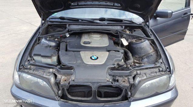 Motor BMW E46 320d 150cv 204d4 Caixa de Velocidades Automatica + Motor de Arranque  + Alternador