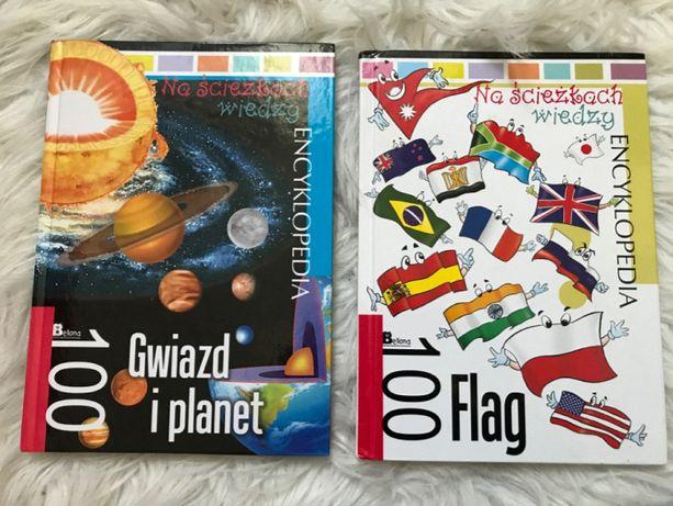 Zestaw książek encyklopedia Flag Gwiazd i Planet