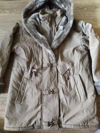 Куртка с мехом .