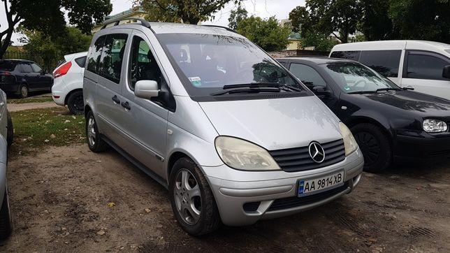 Mercedes Vaneo (W414) 1.7 CDI АКПП (не Caddy, Kangoo, Doblo,Logan MCV)