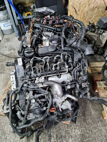 Silnik 2.0 tdi cba kompletny wtryski pompa uklad wtryskowy
