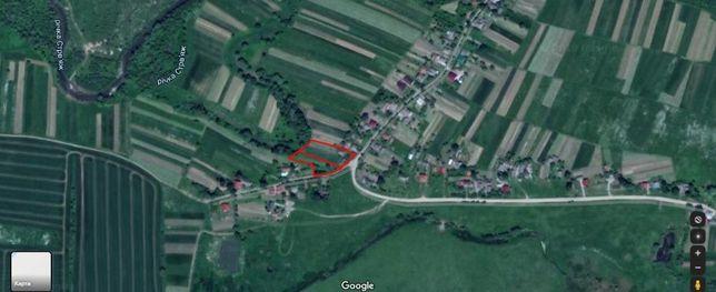 Продам дві ділянки з дачею поблизу м.Самбора в с.Заріччя (Воютичі)