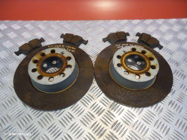 Discos Travão Com Calços Volkswagen Golf Vii Variant (Ba5, Bv5)