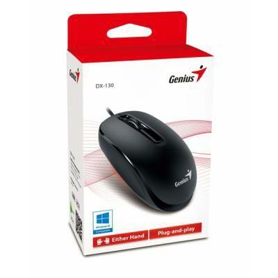 Опт Мишка Genius DX-130 USB Black