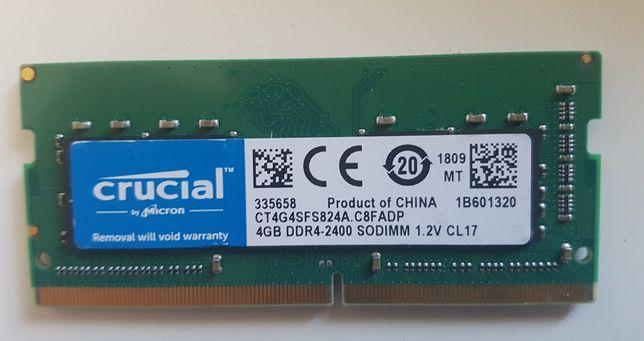 Kości pamięci RAM- LAPTOP- ddr4-4gb, ddr4-8gb.