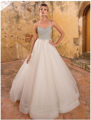 Wyjątkowa Suknia ślubna projektu: Justin Alexander