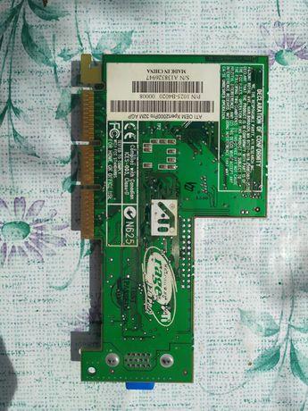 Видеокарта ATI Rage 128 PRO, 32 M, AGP.