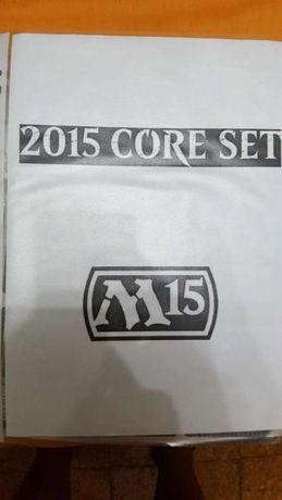 Colecção M 2015 completa mtg