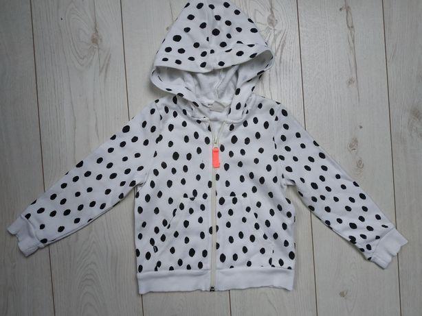 Bluza rozpinana H&M rozm. 98/104