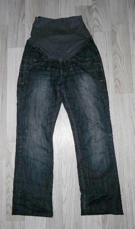 Spodnie ciążowe jeansowe jeansy 40 L
