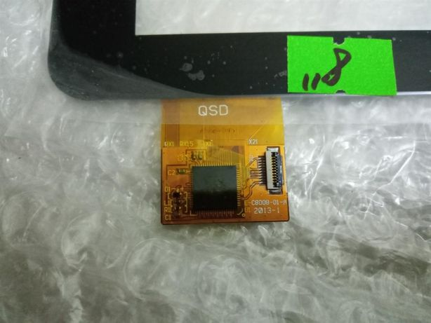 Тачскрин для планшета Assistant AP-803 QSD E-C8008-01-A 10 pin