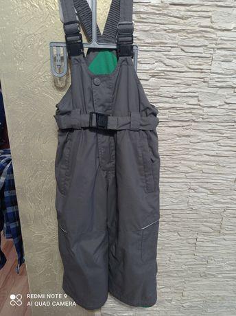 Комбинезон полукомбинезон штани зимові