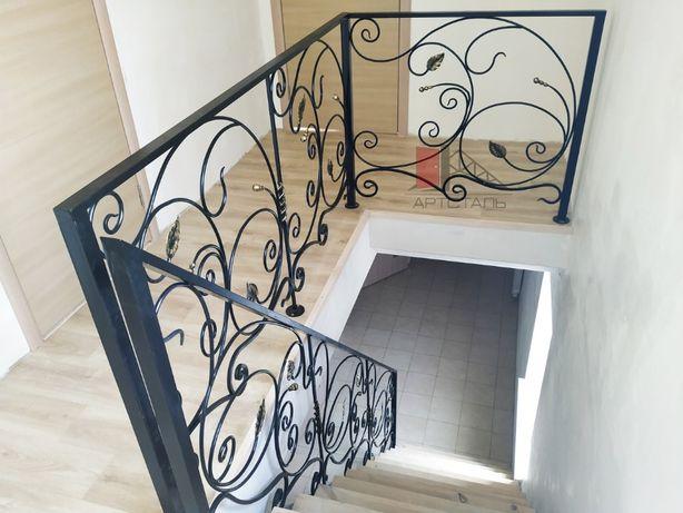 Кованые перила, ограждения, лестницы, винтовые лестницы