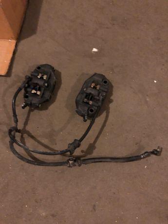 Тормозные суппорта радиальные подрамник диски демпфер Honda CBR1000RR