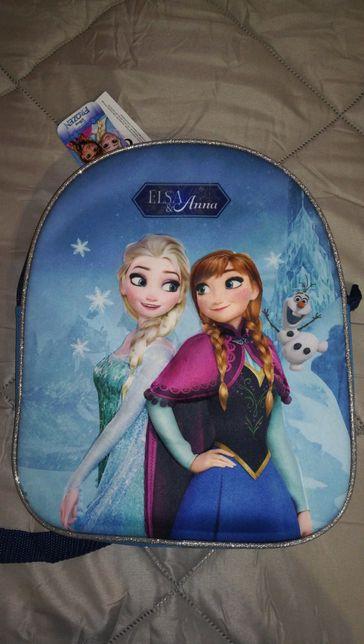 < Artigo Novo > Mochila Frozen Elsa e Anna / Disney