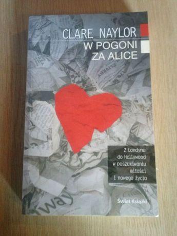 Clare Naylor w pogoni za Alice