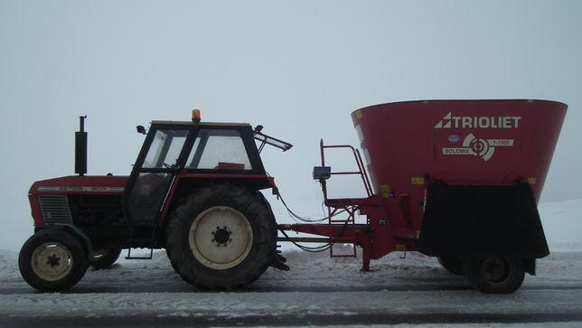 Wóz paszowy paszowóz Trioliet SM-10 Solomix 2008