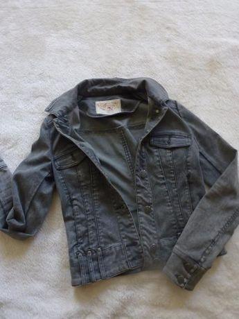 Ramoneska ORSAY jeans marmurek 36