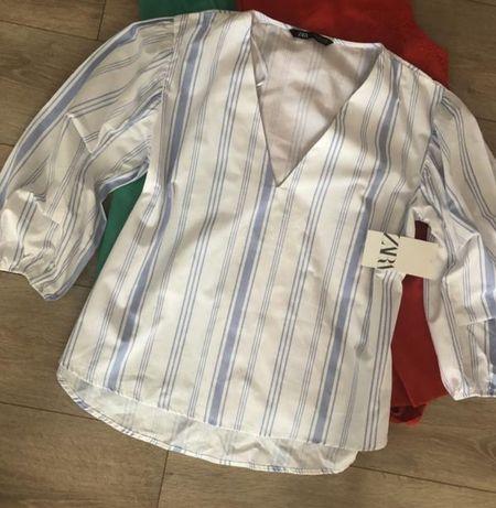 Рубашка,  блуза ZARA 100% котон
