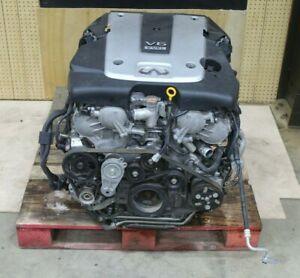 infiniti Q50 3.7 двигатель коробка