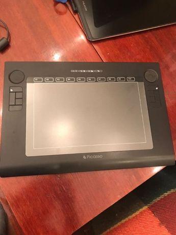 Графический планшет для рисования Penpower Picasso для PC и Mac.