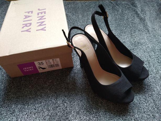 Sandałki Jenny fairy, czarne
