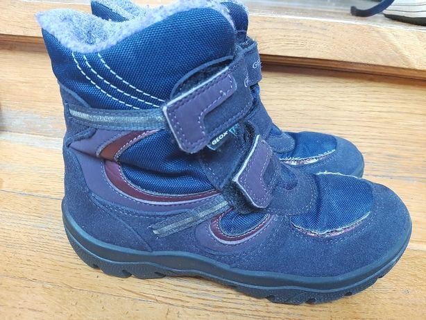 Geox- buty zimowe, dziewczęce rozm.33