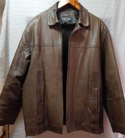 Мужская кожаная куртка EROS оригинал