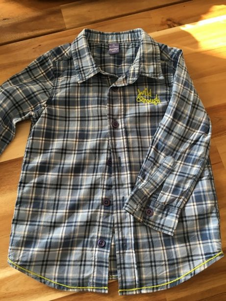 Koszula w krateczkę 92cm.