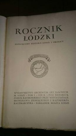 Stara księga, Rocznik łódzki t l 1928