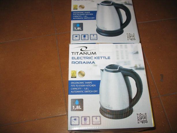 nowy czajnik elektryczny,gwarancja,1,8 litra, moc 1800wat,satyna,