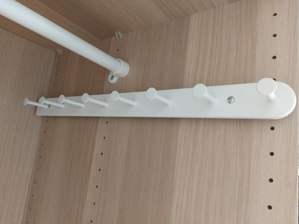 Ikea Komplement wysuwany wieszak wielofunkcyjny